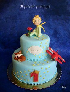 Prince Birthday Party, Birthday Week, Baby Birthday, First Birthday Parties, First Birthdays, Little Prince Party, The Little Prince, Prince Cake, Panda Cakes