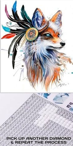 Now bring the painter in you come to life by creating this Dog Colorful Paintings Diamond painting. Colorful Paintings, Cool Paintings, Animal Paintings, Dragon Tattoo With Flowers, Faith Hope Love Tattoo, Squirrel Art, Tatuagem Old School, Colorful Animals, Famous Art