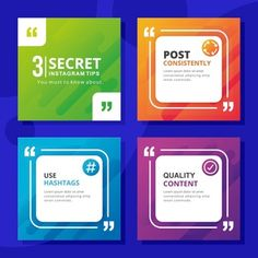 Template Vectors, Photos and PSD files Tips Instagram, Instagram Feed Layout, Instagram Post Template, Instagram Design, Instagram Posts, Creative Poster Design, Graphic Design Posters, Social Media Banner, Social Media Design