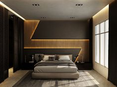 32 Fabulous Modern Minimalist Bedroom You Have To See - Everywhere you look you find things are being updated. The best way to start modernizing in your life is to have a modern bedroom. Bedroom Wall Designs, Bedroom False Ceiling Design, Wardrobe Design Bedroom, Luxury Bedroom Design, Salon Interior Design, Bedroom Bed Design, Modern Bedroom Decor, Bedroom Furniture Design, Bed Designs