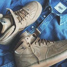 Nike Air Force 1 Mid Wheat