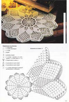 View album on Yandex. Crochet Tablecloth Pattern, Crochet Bedspread Pattern, Crochet Mandala Pattern, Crochet Lace Edging, Crochet Circles, Crochet Diagram, Crochet Blanket Patterns, Crochet Doilies, Crochet Mat