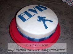 tort z Elvisem