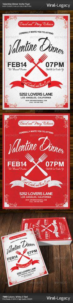 Valentine Dinner Invitation