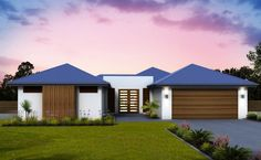The Hydra home design is modern, practical and energy efficient. Take a look at the floorplan of one of Green Homes premium eco-friendly house designs.