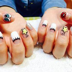 5 korean nail art trends you need in your life koogle tv Manicure, Diy Nails, Cute Nails, Korean Nail Art, Korean Nails, Nail Design Spring, Japanese Nail Art, Trendy Nail Art, Toe Nail Art