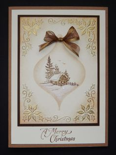 Christmas Crafting inspiration from Inkylicious who join us during our #12DaysOfChristmasCrafting at Hochanda www.hochanda.com