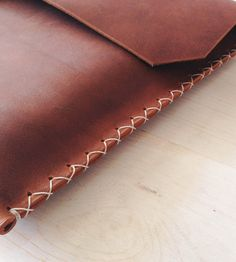 Brown Leather 13'' MacbookPro Case / by Stock & Barrel