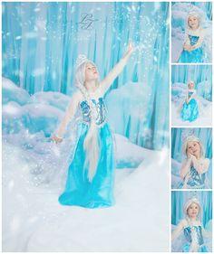 www.lucianajustice.com Frozen themed photo session, Katy, TX