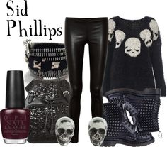 """Sid Phillips"" by everythingisdisney ❤ liked on Polyvore"