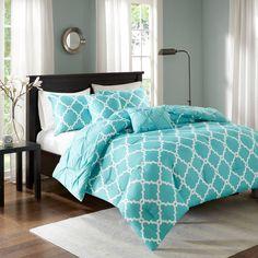 Aqua Bedding, Grey Comforter Sets, Queen Bedding Sets, Shabby Chic Duvet, Bed Sheet Sets, Bed Sheets, Large Furniture, Ebay, Quartos