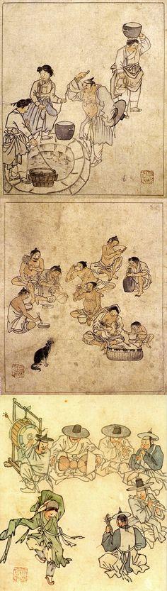 Kim Hong-do (Korea artist) in the 18th century