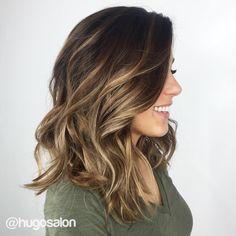 Dark+Brown+Hair+With+Golden+Brown+Balayage