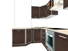 Кухня с коробом, дом П44. Как все расположить?