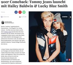 Tommy Jeans @ REFINERY29.DE, October 2016