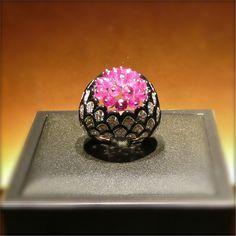 Cartier, Biennale 2012, bague rubis onyx brillants