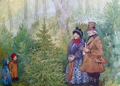 The Fir Tree Hans Christian Andersen Book | 'Grantræet' - 'The Fir Tree' by Hans Christian Andersen ...