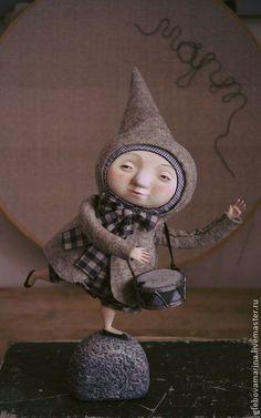 Куклы Марины Глебовой ,серый,лиловый,барабан,колпачок,Паперклей,карандаши цветные: