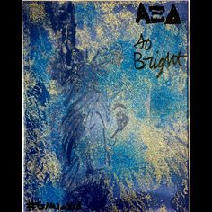 Made this canvas for a new member for a rose date:) #gmuaxid #AlphaXiDelta #ΑΞΔ #ShineSoBright #art #crafting #rosedate #mine #MadeByMe #SprayPaint #glitter #nyc #tfj #sobright #somuchglitterpaitnt #canvas