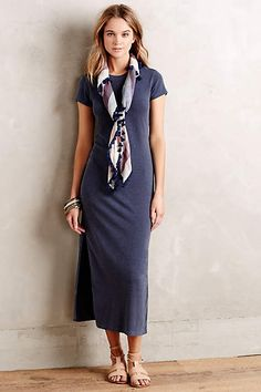 Crewneck Jersey Dress - anthropologie.com