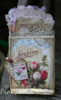 pocket journal~would be cute on an old mailbox