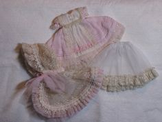 Rosen Lied Monday's Child Dress Set by ElfinHugs, via Flickr.