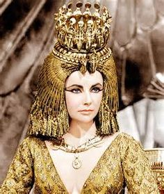 elizabeth taylor's wardrobe from cleopatra - Bing images