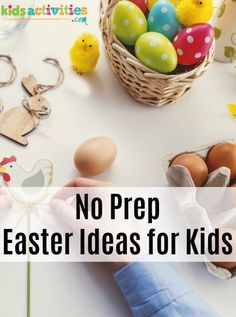 11 FREE EASTER ACTIVITIES FOR KIDS - Kids Activities #Easter #kids #holidays #Easterideas #kidsactivities #diy #parenting