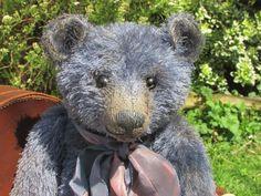 Dany Baren 'David' OOAK Denim Blue Mohair Artist Teddy Bear in Dolls & Bears, Bears, Artist   eBay!