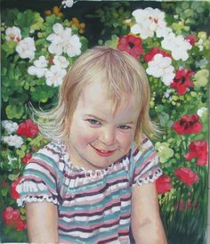Child Portraits | Child Paintings | Child Portrait Artist...... #childrenportraits #paint #painting #paintyourlife