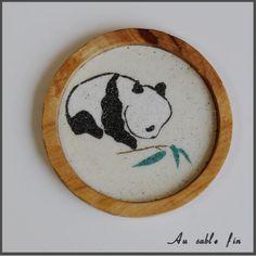 Sous-verre panda