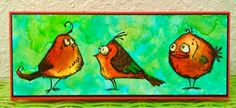 Image result for tim holtz bird crazy