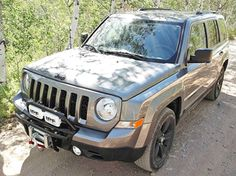 Kits for winch & without, brush bars, light mounts, a complete front-end makeover for any year Patriot! Jeep Patriot Accessories, Jeep Cars, Jeep Jeep, Jeepers Creepers, Future Car, Jeep Life, Mopar, Automobile, Vehicles