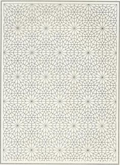 Pattern in Islamic Art - something like this would look really interesting on the back wall of our built-in bookcases