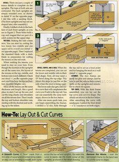 #2076 Folding Step Stool Plans - Furniture Plans