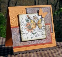 SC305, CC295: Autumn Garden by maryrose - Cards and Paper Crafts at Splitcoaststampers