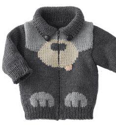 Model vest pattern Pooh