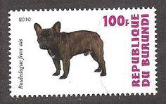 french bulldog post stamp - Szukaj w Google