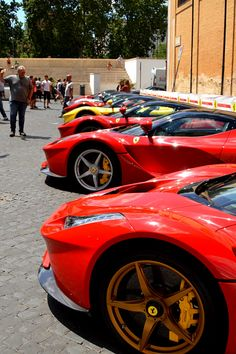 LaFerrari Line Up