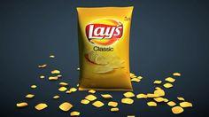 Cinema 4D - Potato Chip Bag Tutorial
