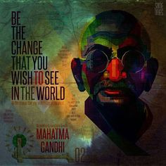 He is the symbol of peace, non - violence and freedom for teaching the philosophy of Ahimsa for the well - being of the people in the society.  Let's follow the path of truth,  Spread Bapu's great ideas to inspire everyone. Let's celebrate this day. Happy Gandhi Jayanti !!!