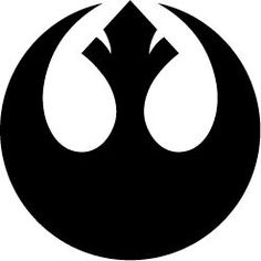 Items similar to Star Wars - Rebel Alliance Vinyl Decal on Etsy Star Wars Silhouette, Silhouette Images, Alliance Logo, Rebel Alliance, Star Wars Rebels, Star Wars Stencil, Camo Stencil, Cool Ideas, Tatoo