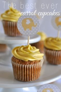 The best ever carrot cupcakes - Claire K Creations