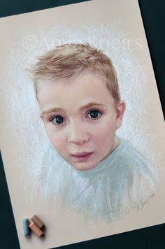 Anya Speirs St Exupery, Pastel Portraits, Painting Inspiration, Paintings, Watercolor, Children, Artist, Pen And Wash, Young Children