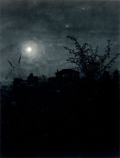 night time moon tree Tagged 'awesome' · The Walters Art Museum · Works of Art