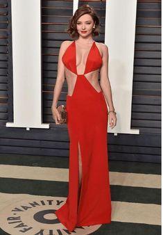 Backless Prom Dresses, Sexy Dresses, Evening Dresses, Sexy Bikini, Miranda Kerr Style, Dress Meaning, Vs Models, Vanity Fair Oscar Party, Celebrity Dresses