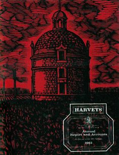 Harvey's Annual Report 1963 Illustrated by David Gentleman