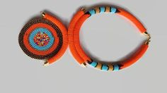 multipurpose necklaceafrican beaded necklacependant necklace