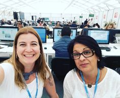 Check it out some collegiettes at the Casperian coverture of COP 22