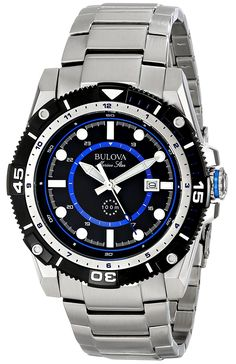 Bulova Men's 98B177 Marine Star Stainless Steel Watch ** See this great product. (This is an Amazon Affiliate link and I receive a commission for the sales)